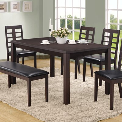 Monarch Specialties Inc. 6 Piece Dining Set