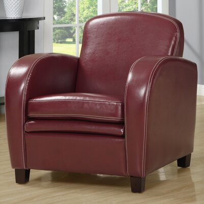 Monarch Specialties Inc. Faux Leather Chair