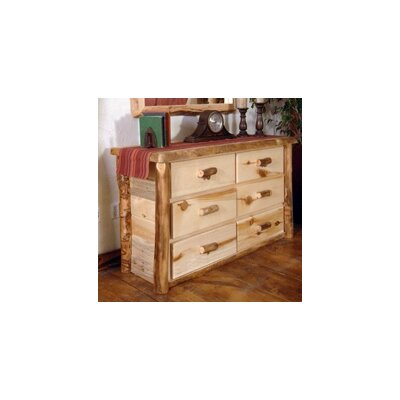 Timber Designs Summit Peak Six Drawer Chest