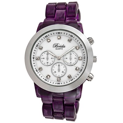 Breda Women's Brooke Watch in Purple