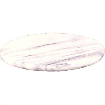 "Creative Home White Marble 12"" Lazy Susan"