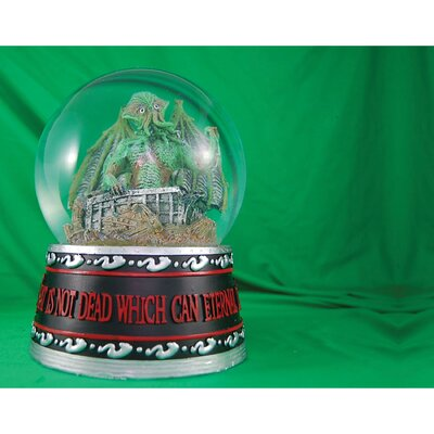 Fourth Castle Cthulhu Rising Water Globe