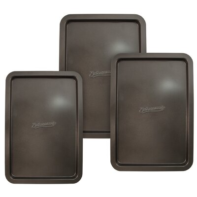 "Entenmann's Bakeware Classic 3 Piece 13"" Cookie Sheet Set"