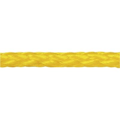 "Unified Marine 0.313"" x 600' Twisted Polypropylene Bulk Spool in Yellow"