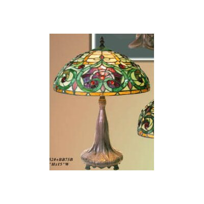 Warehouse of Tiffany Deco Table Lamp