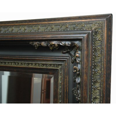 Imagination Mirrors Acanthus Woods Small Wall Mirror in Dark Gold Patina