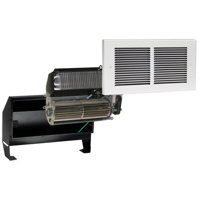 Cadet 240V Register Plus Fan Forced Wall Heater in White
