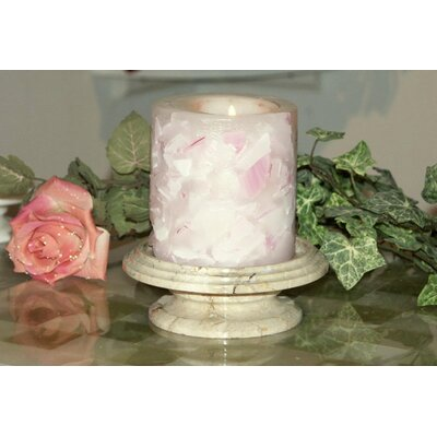 Marble Products International Cameo Marble Candle Dish