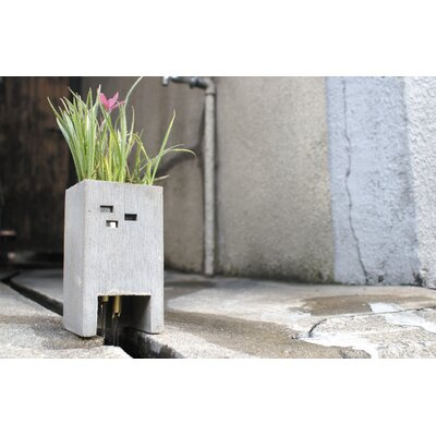 Molla Space, Inc. Pull+Push PIPE Square Planter