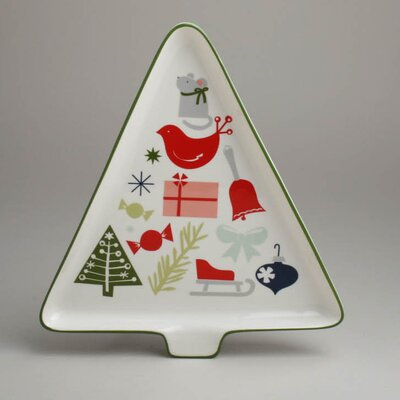 TAG Twas The Night Happy Holidays Tree Platter