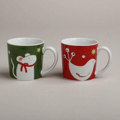 TAG Twas The Night Happy Holidays Mug (Set of 4)