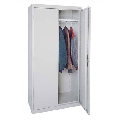 Sandusky Cabinets Elite Series Deep Mobile Wardrobe Cabinet