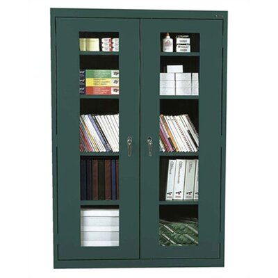 Sandusky Cabinets Clear View Storage Cabinet
