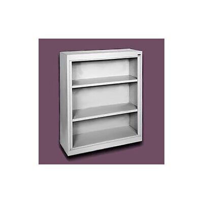 "Sandusky Cabinets 42"" H Deep Three Shelf Bookcase"