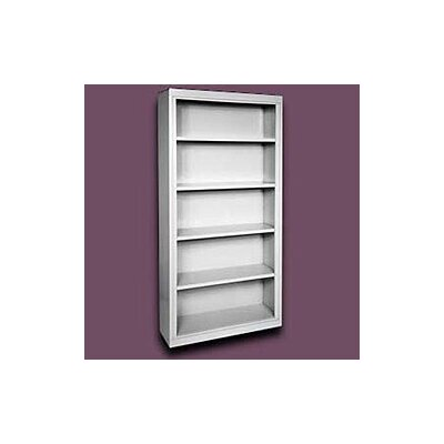 Sandusky Cabinets 72&quot; H Deep Five Shelf Bookcase