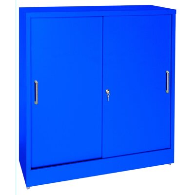 Sandusky Cabinets 42&quot; Storage Cabinets with Sliding Door