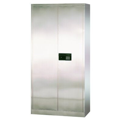 Sandusky Cabinets Stainless Steel Cabinet with Electronic Lock