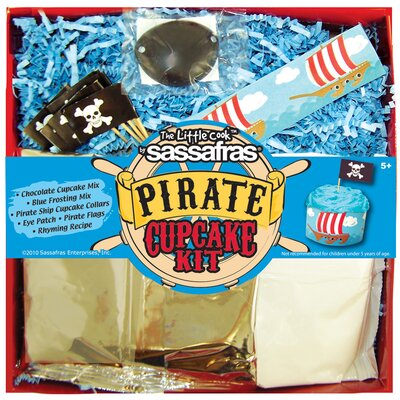 Sassafras Pirate Cupcake Kit
