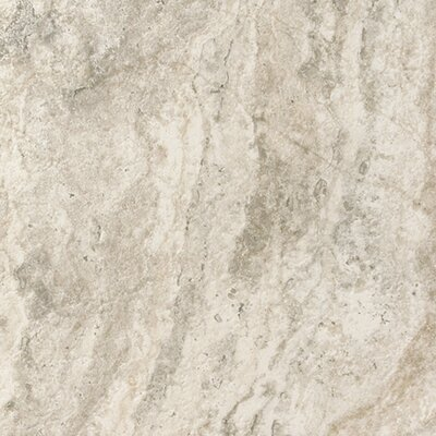 "Epoch Architectural Surfaces 12"" x 12"" Porcelain Field Tile in Gray Travertine"