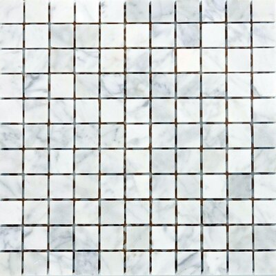 "Epoch Architectural Surfaces 12"" x 12"" Polished / Honed / Tumbled Marble Mosaic in Italian Venatino"