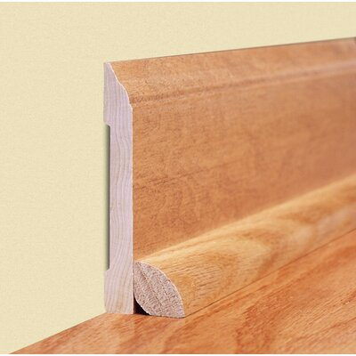 "Moldings Online 0.45"" x 2.89"" Solid Bamboo Carbonized Strand Wall Base in Unfinished"