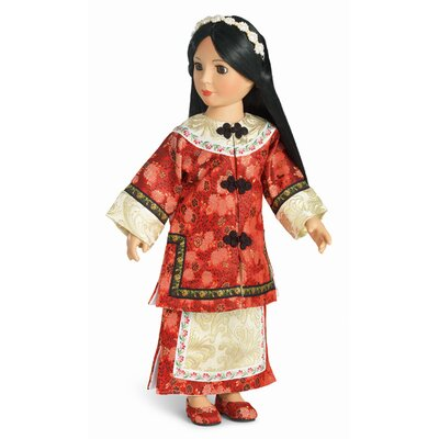"Carpatina Lien Hua Manchurian Outfit for 18"" Slim Dolls"