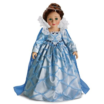 "Carpatina Elizabethan Outfit for 18"" Slim Dolls"