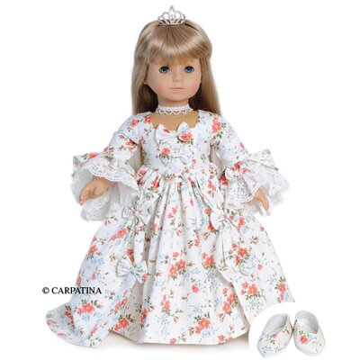 Carpatina American Girl Dolls Marie Antoinette Dress and Shoes