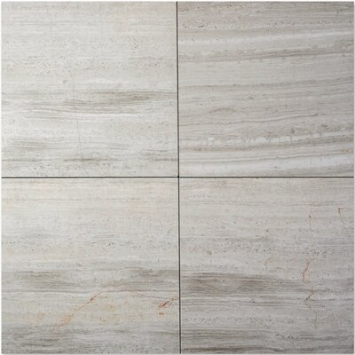 "Solistone Haisa Marble 24"" x 12"" Field Tile in Haisa Light"