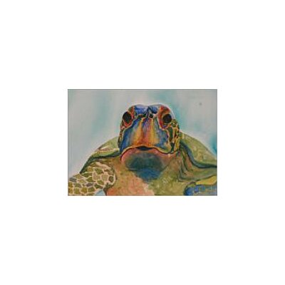 Blackwater Design Cousins Series Truman the Turtle 22 x 16 Gilcee Print