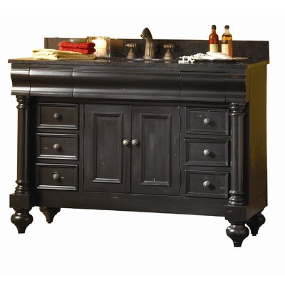 Kaco International Guild Hall 48&quot; Distressed Vanity with Granite Top
