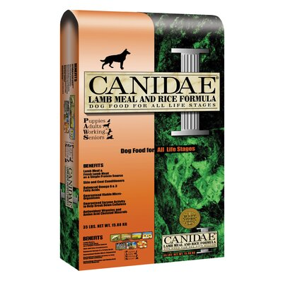 Canidae Lamb Meal and Rice Formula Dry Dog Food