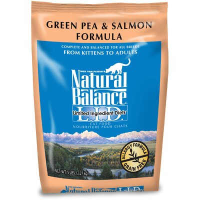 Natural Balance Limited Ingredient Diets Green Pea and Salmon Cat Food