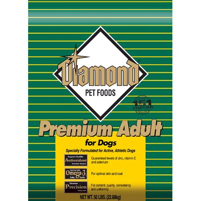 High Protein Premium Adult Dry Dog Food (40-lb bag)