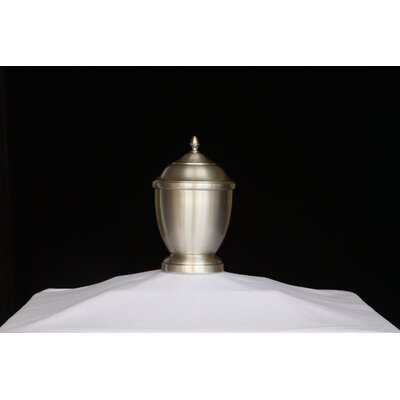 K-L Enterprises Ross Pewter Urn