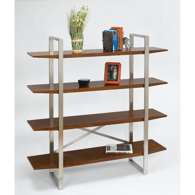 Directions East Breeze Bookcase with Stainless Steel Legs