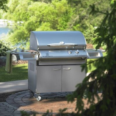 "The Outdoor GreatRoom Company Legacy 36"" Cook Number Gas Grill with Deluxe Cabinet"