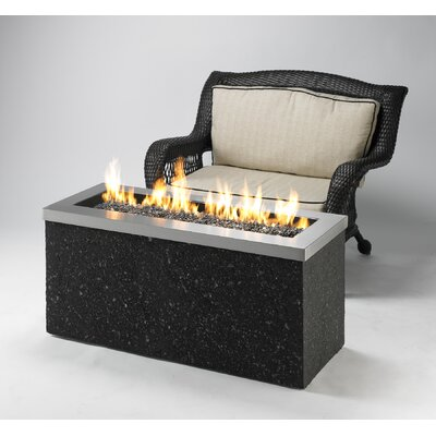 Key Largo Linear Burner Design with Fire Pit