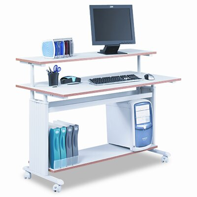 "Safco Products Company MUV 48"" W Height-Adjustable Workstation"