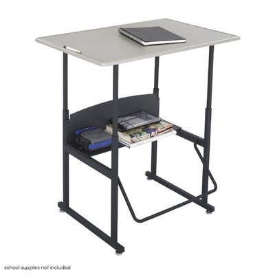 Safco Products Company AlphaBetter Writing Desk with Lower Shelf