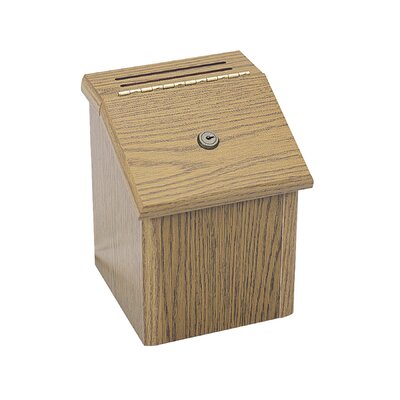 Safco Products Company Wood Locking Suggestion Box