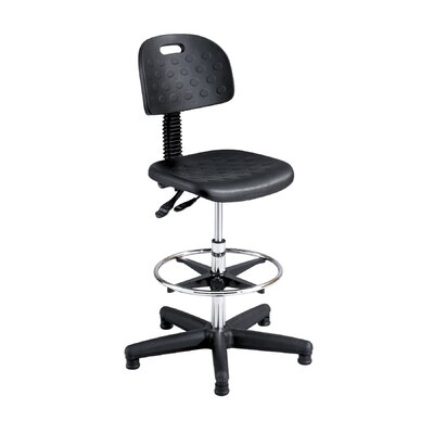 Safco Products Company Height Adjustable Drafting Stool with Footring