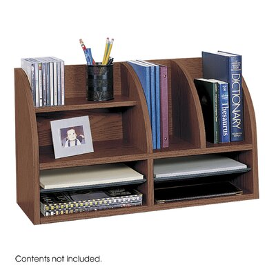 Safco Products Company Radius Front Eight Compartment Desktop