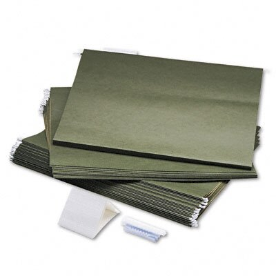 Safco Products Company Hanging File Folders, Compressed Paper Fiber