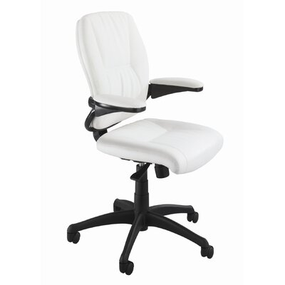 Safco Products Company Incite Mid-Back Leather Executive Chair