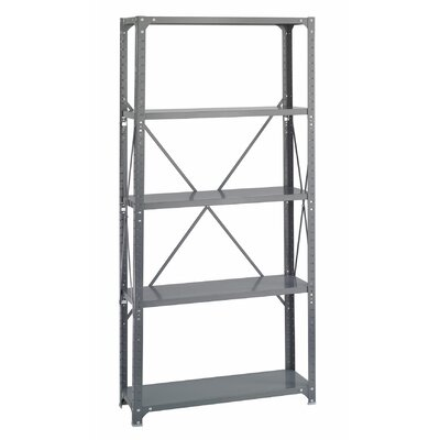 Safco Products Company Commercial Steel Shelving Unit, 5 Shelves