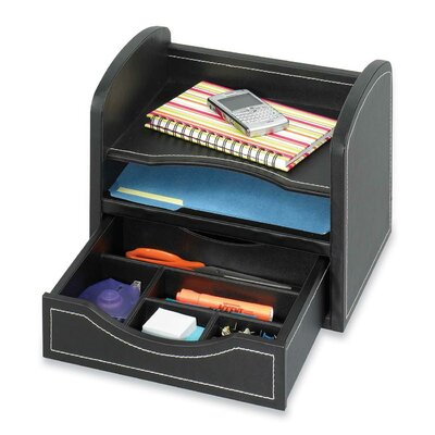 Safco Products Company Desk/Drawer Organizer in Black