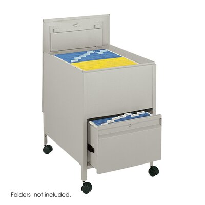 Safco Products Company Extra-Deep Locking Legal-Size Tub File with File Drawer