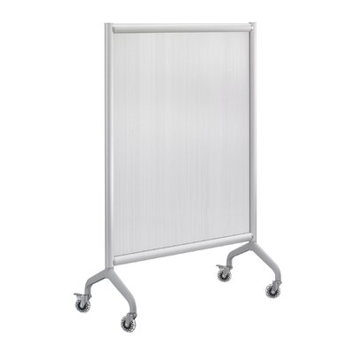 Safco Products Company Rumba Polycarbonate Screen in Gray