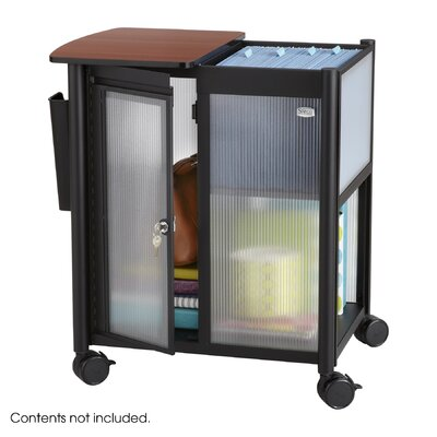 Safco Products Company Impromptu Personal Mobile Storage Center with Hanging File